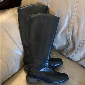 EUC Ugg Black Riding Boots Size 8
